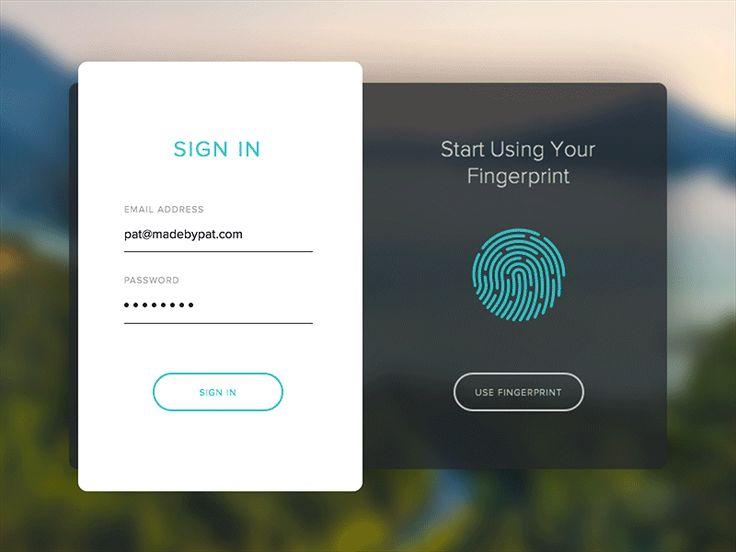 Fingerprint Sign In