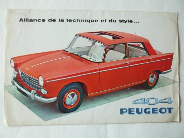 Peugeot 404  de 1960