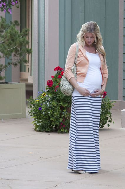 maxi skirt - love that it can be made for when you are pregnant