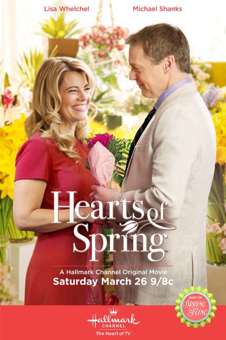 """Simply delightful. Lisa Whelchel and Michael Shanks in """"Hearts of Spring"""""""