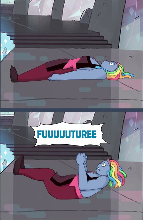 I honestly expected Bismuth to react like this, but she took it surprisingly well. // Spongebob reference