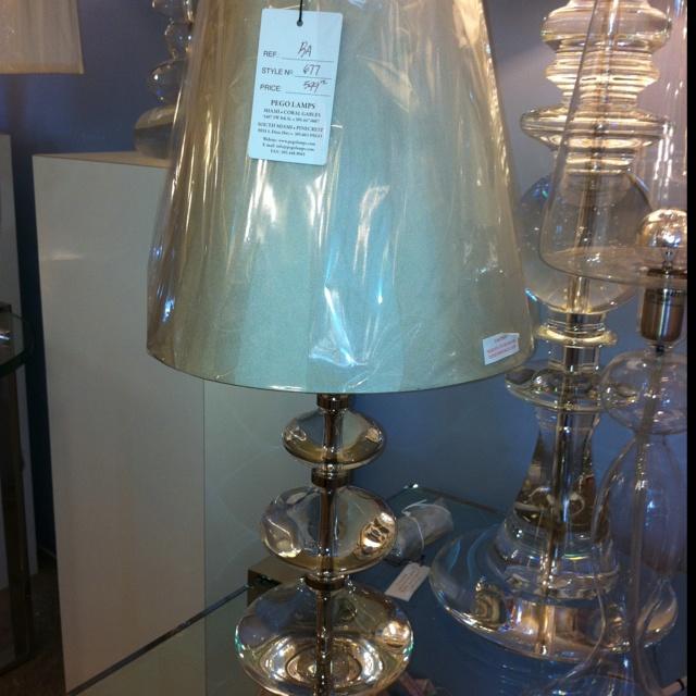 Pego lamp.