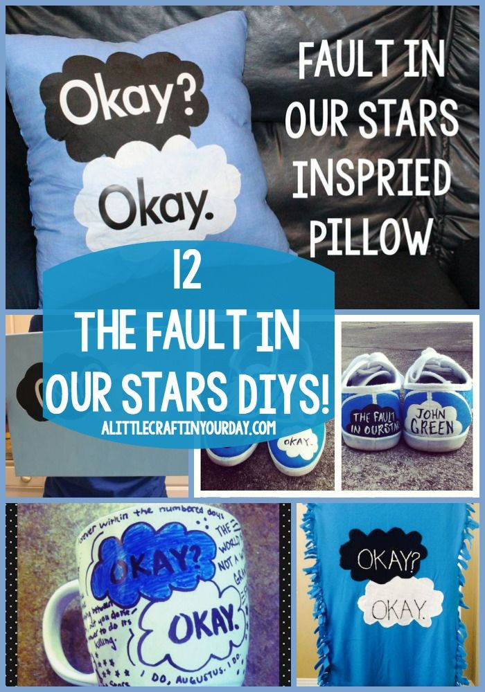 12 The Fault In Our Stars DiYs