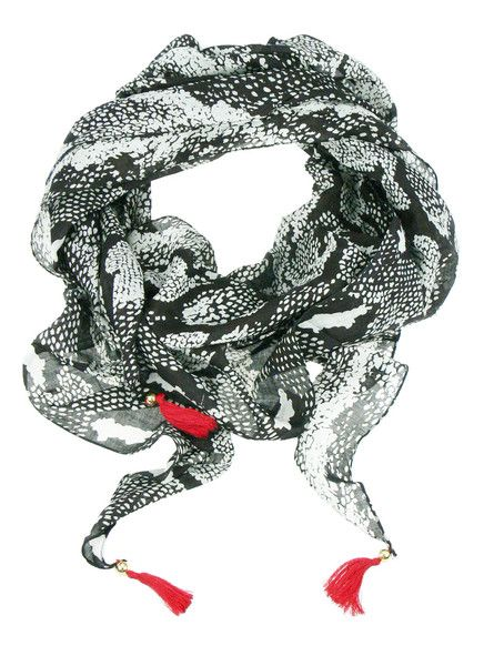 Summer Snake Scarf $59.95 #leethal #accessories #fashion