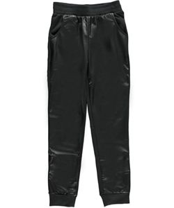 "Hello Gorgeous Big Girls' ""Pleather Front"" Jogger Pants (Sizes 7 – 16) $5.99  A pairing of pleather and French terry will make her want to say hello to these Hello Gorgeous jogger pants!"