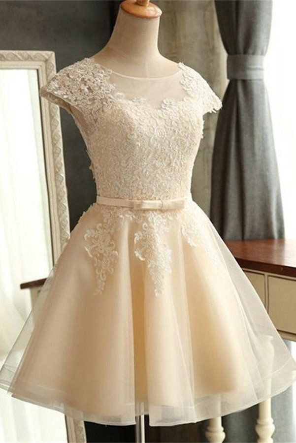 Lace Classy Homecoming Dress,Sexy Party Dress,Charming Homecoming…
