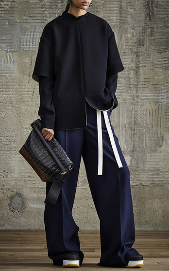 """The designer: Marni's Consuelo Castiglioni has almost single-handedly made graphic prints and unconventional shapes synonymous with Italian fashion. Editors love the brand for its sophisticated yet not-too-serious aesthetic. This season it's about: A """"fierce-slouch"""" look via Japanese judo jackets and a cool take on the sporty track pant. The pieces to buy: Judo jackets (almost everyone's a white belt!) and one of the quilted crepe pieces—the fabric feels newly luxu..."""