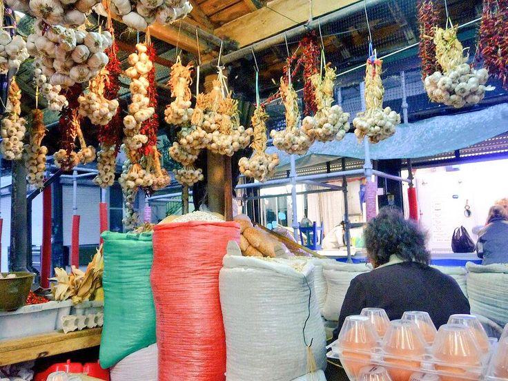 "Oporto. Antico ""Mercado do Bolhao""."