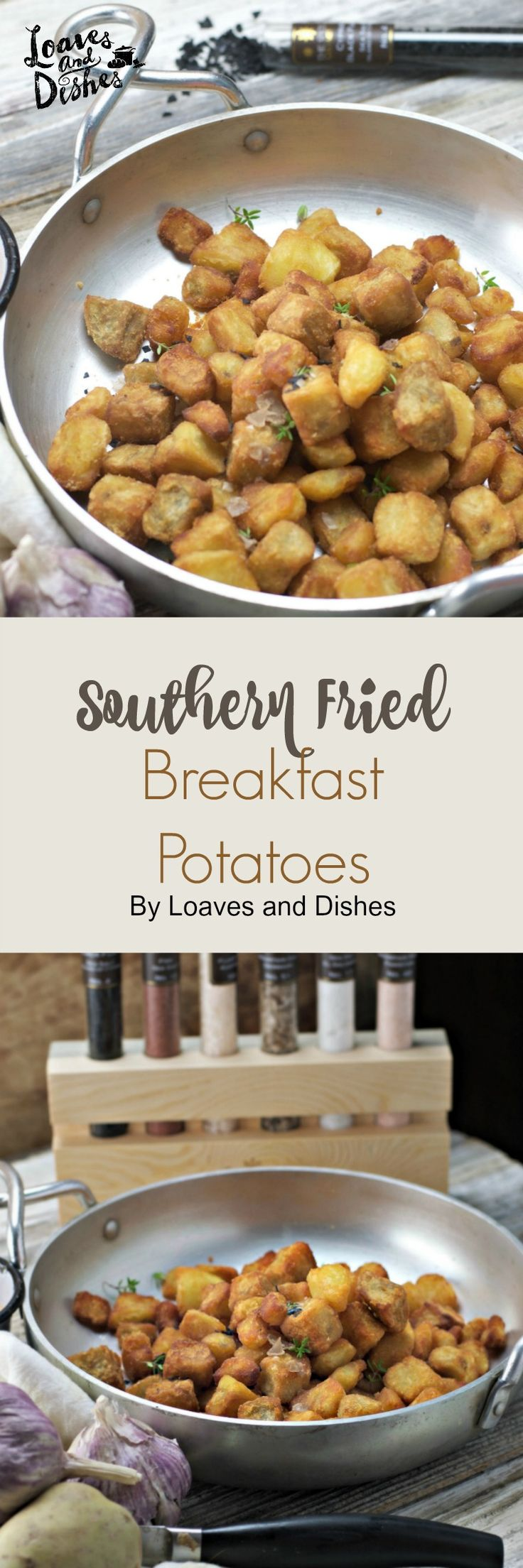 Recipe for Southern Fried Breakfast Potatoes, delicious and easy Sauce and a GIVEAWAY! #ad @Uncommon Goods