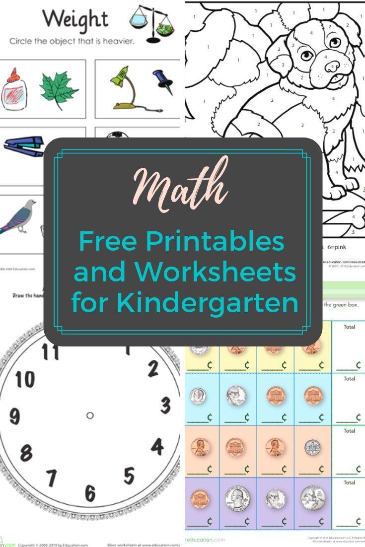 Kindergarten Math Worksheets And Printables Access More Than A Thousand Prin Kindergarten Math Worksheets Free Kindergarten Math Worksheets Kindergarten Math [ 1102 x 735 Pixel ]