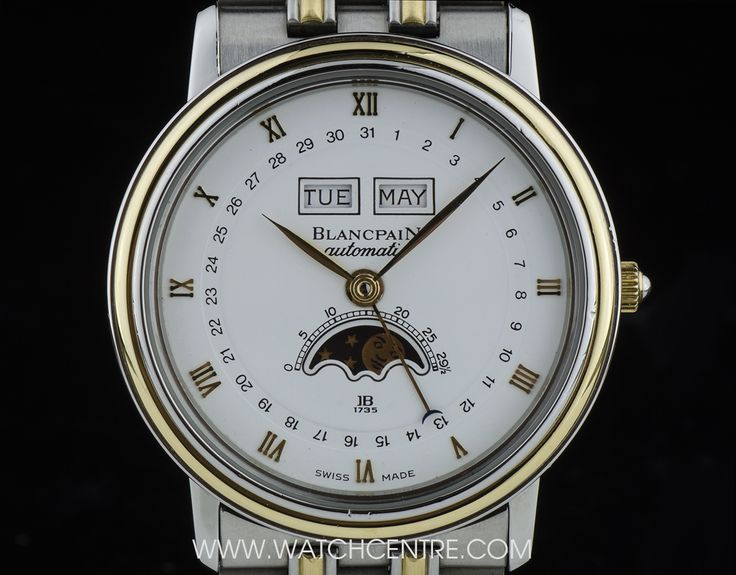 BLANCPAIN S/G MOONPHASE ANNUAL CALENDAR VILLERET GENTS WRISTWATCH  http://www.watchcentre.com/product/blancpain-s-g-moonphase-annual-calendar-villeret-gents-wristwatch/5119