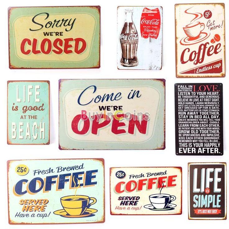 New Metal Pub Wall Harley Motorcycle Chic Decor Bar Vintage Sign Tin Plaque -- BuyinCoins.com
