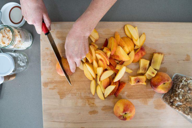 Peach Coconut Crisp • Joyous Health