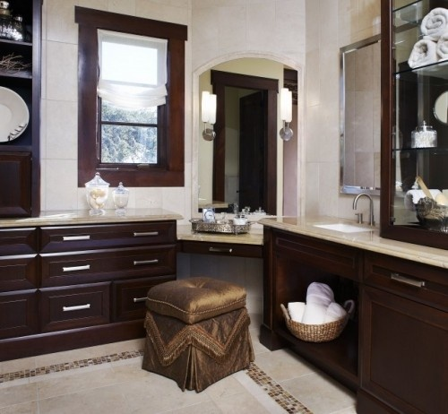 Dallas Bathroom Vanities: Corner Vanity Idea