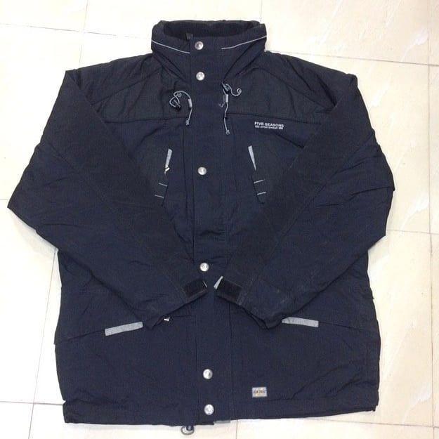 کاپشن گرمایشی مارک Five Seasons سوئد سایز Xl Xxl مناسب قد بین ۱۸۰ تا ۱۹۲ سانتی متر مناسب وزن بین ۱۱۰ Nike Jacket Athletic Jacket Fashion