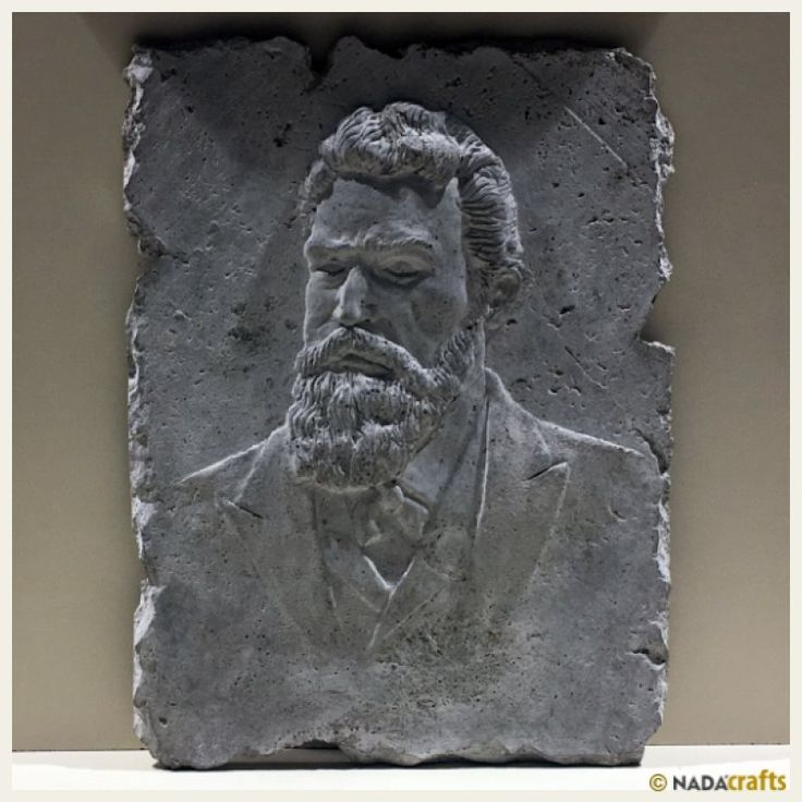 W. Conrad Röntgen Rölyefi, NadaCrafts.com | Concrete Ürünler