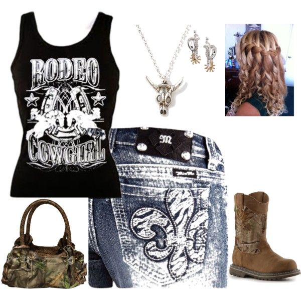 """Rodeo Outfit"" by angelina-sutton on Polyvore"