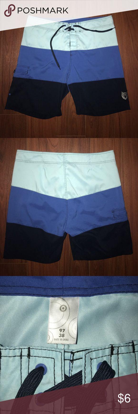 Men's Swim Trunks Size 38 Excellent condition men's swim trunks size 38 from Target Swim Swim Trunks