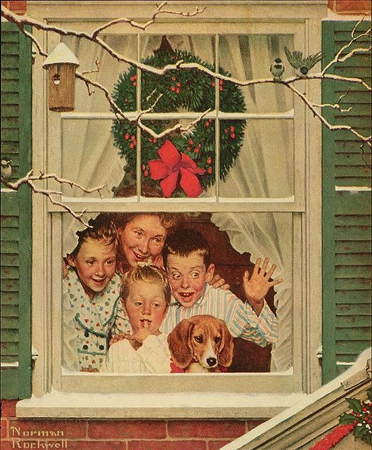 Norman Rockwell Known for his covers on Saturday Evening Post