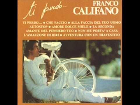 Franco Califano - Avventura con un travestito - YouTube
