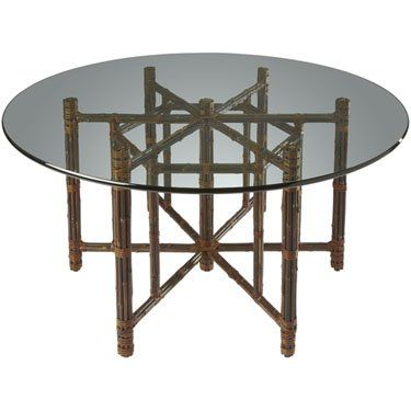 mcguire furniture company laced. mcguire furniture: hexagonal dining table in black bamboo: mcguire furniture company laced u
