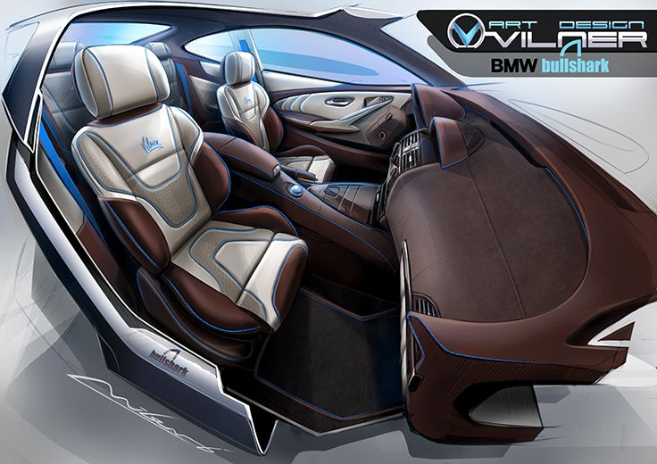 BMW 6 Bullshark Interior
