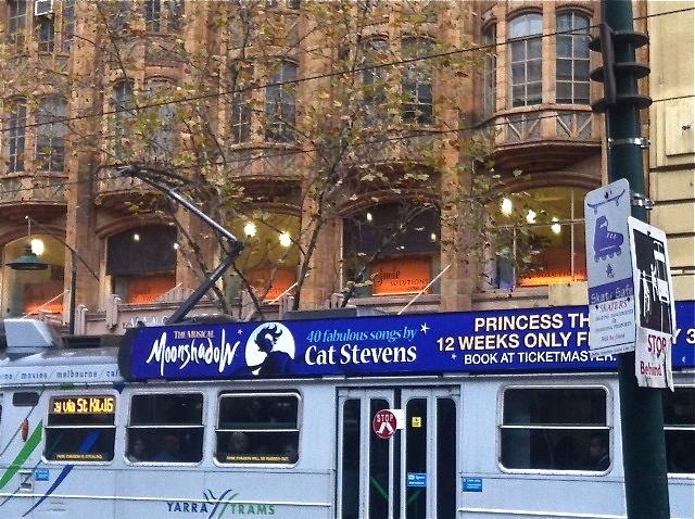 early morning tram, Swanston St