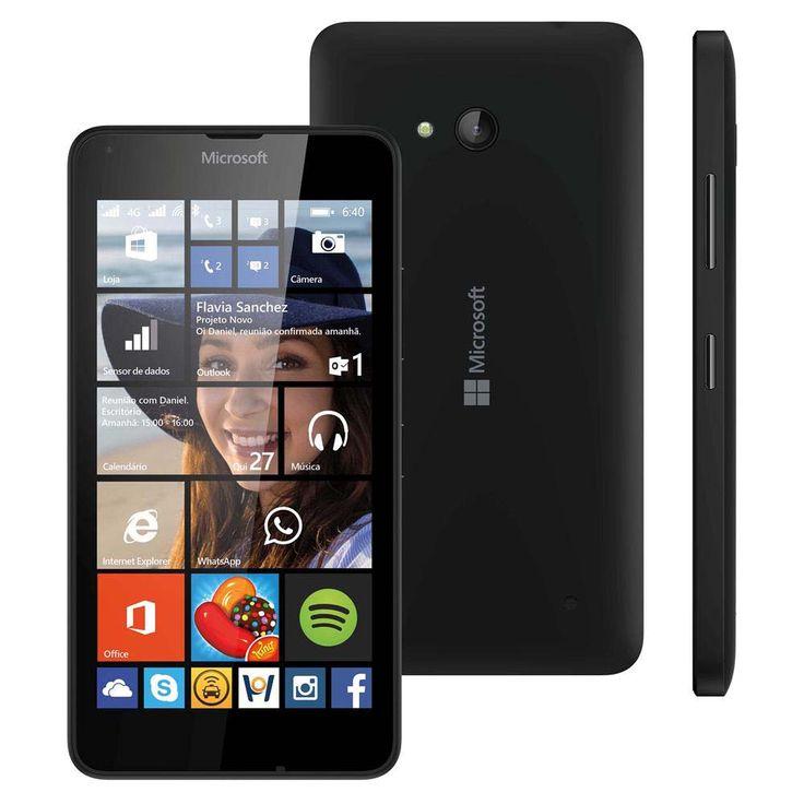 [PONTO FRIO] Smartphone Microsoft Lumia 640 - R$499,00