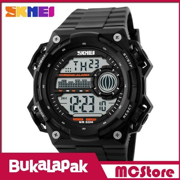 Beli MCStore Jam Tangan Pria SKMEI S-Shock Militer Sport Watch Water Resistant 50m - DG11151 - Black dari MCStore habibwaldani - Jakarta Barat hanya di Bukalapak