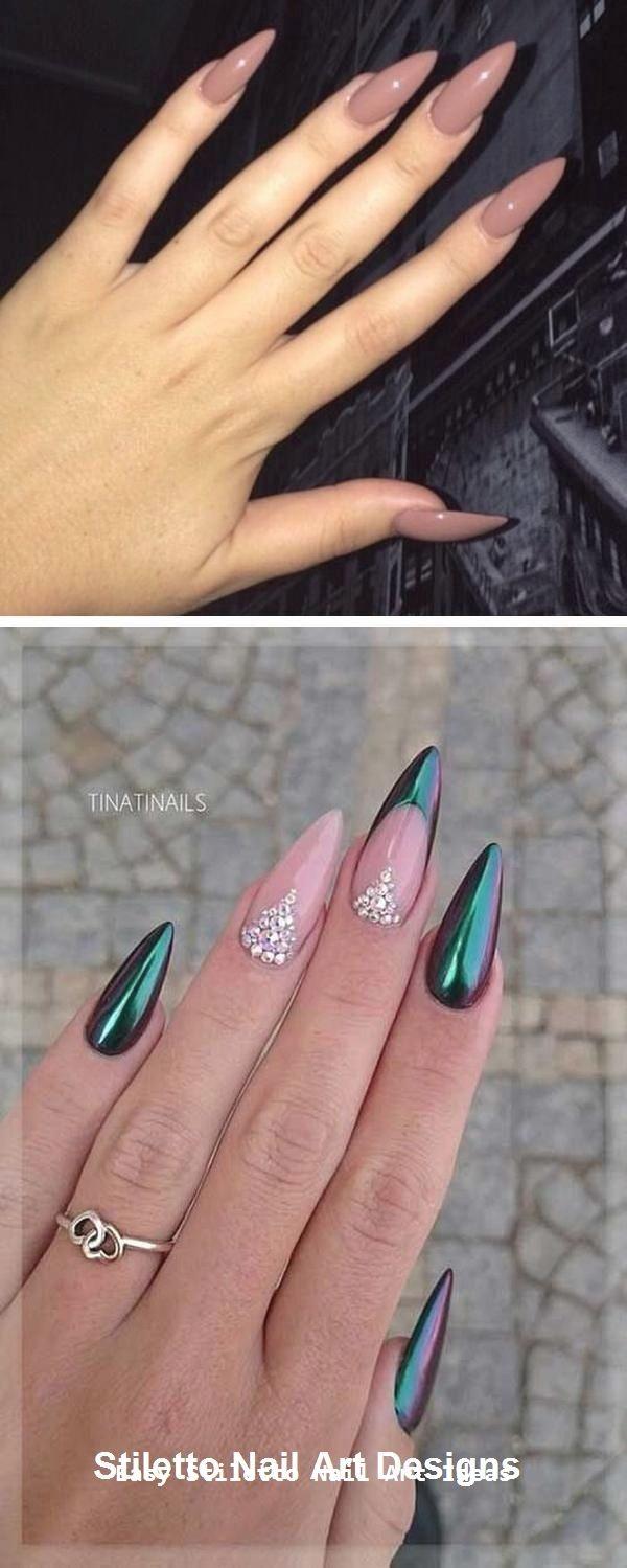 30 große Stiletto Nail Art Design-Ideen #nail – Nägel