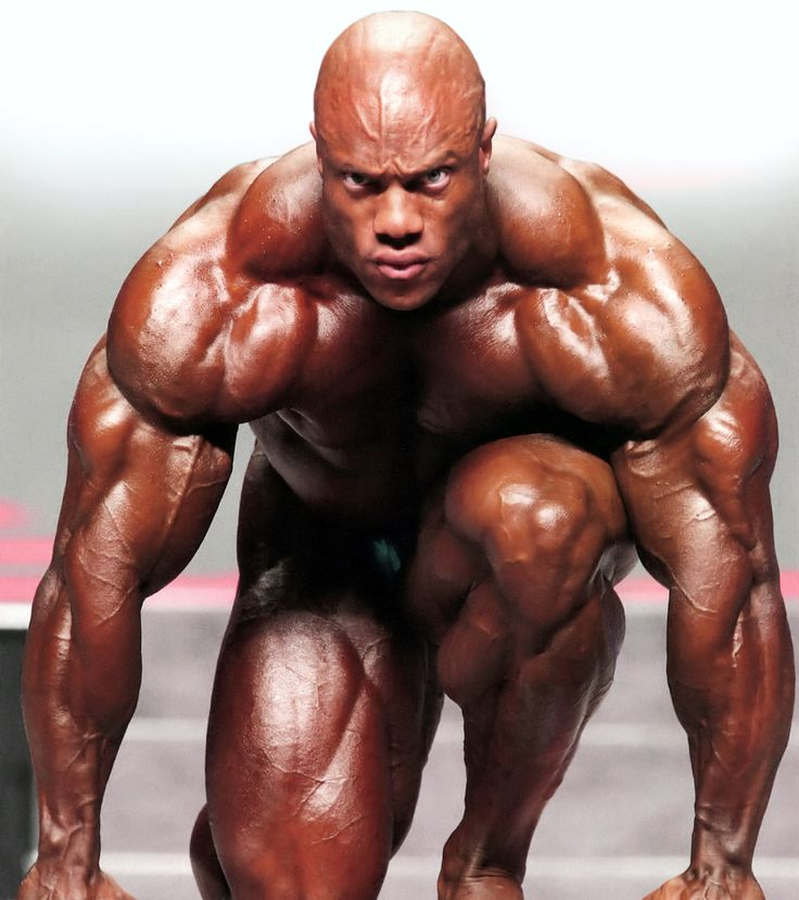Phil Heath- intense!