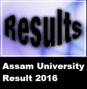 Assam University Result 2016 – AUS Result 2016 for TDC, BA, B.Sc, B.Ed, B.Com Exam, Check Assam University Semester Exam Results Date at www.aus.ac.in.