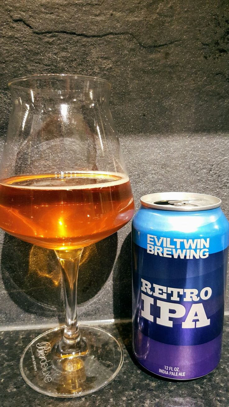 Evil Twin Brewing Retro IPA. Watch the video beer review here www.youtube.com/realaleguide   #CraftBeer #RealAle #Ale #Beer #BeerPorn #EvilTwinBrewing #EvilTwin #EvilTwinRetroIPA #RetroIPA #AmericanCraftBeer #AmericanBeer