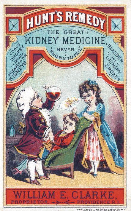 CURE: Kidney Medicine +, Never Known to Fail Late 1800s - Early 1900s