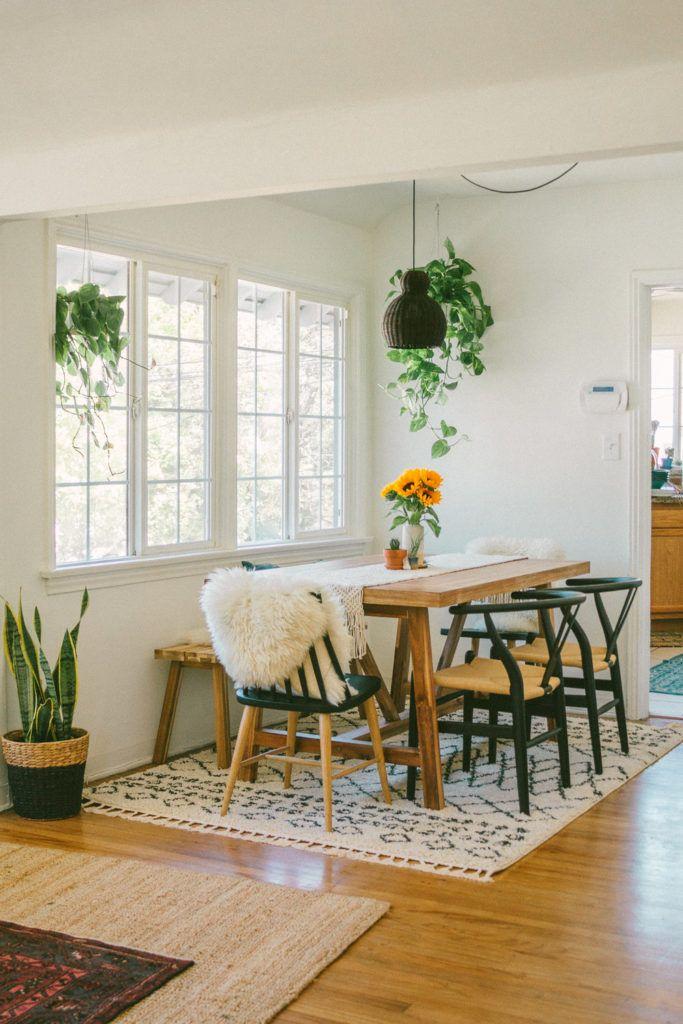 Boho Dining Sets Design Ideas Minimalis Ruang