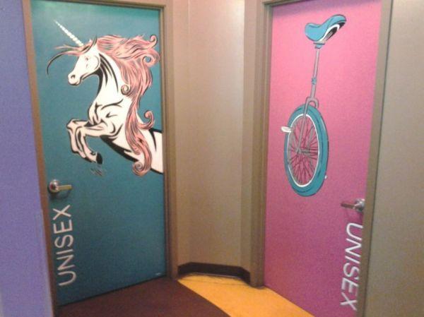 Gender-neutral Restroom Signs - Neatorama