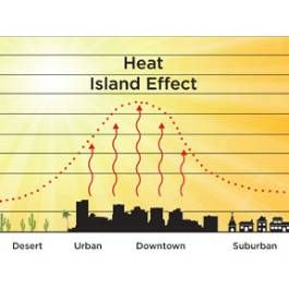 dissertation urban heat island