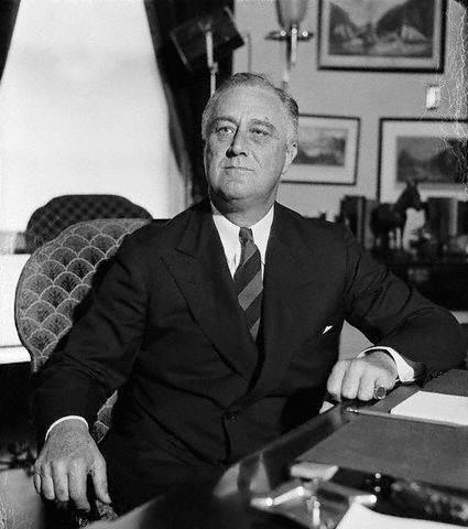 This week in labor history - President Franklin D. Roosevelt announces plans for the Civil Works Administration to create four million additional jobs for the Depression-era unemployed. The workers ultimately laid 12 million feet of sewer pipe and built or made substantial improvements to 255,000 miles of roads, 40,000 schools, 3,700 playgrounds, and nearly 1,000 airports (not to mention 250,000 outhouses still badly needed in rural America) -- 1933   www.unionplus.org