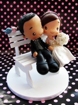 45 noivinhos para o seu bolo - Noivas - iG