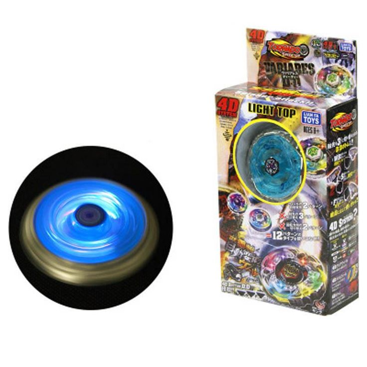 Beyblade BURST Metal Fusion 4D Launcher Beyblade Spinning Top set Kids Game Toys Christmas Gift for Children