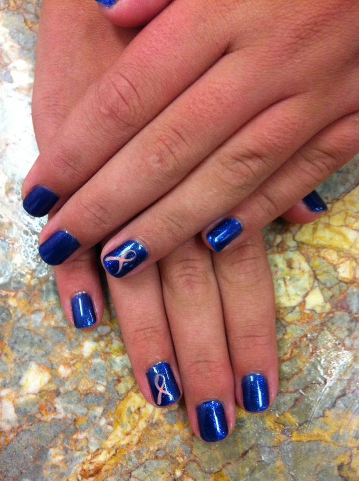 Change The Color And This Would Be Perfect For Child Abuse Prevention Month In April