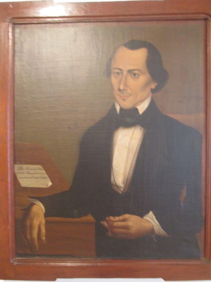 Jose Maria Espinosa Prieto Bogotá Cundinamarca 1796-1883  Rito A. Sarmiento Acevedo 1845 Oleo sobre lienzo.