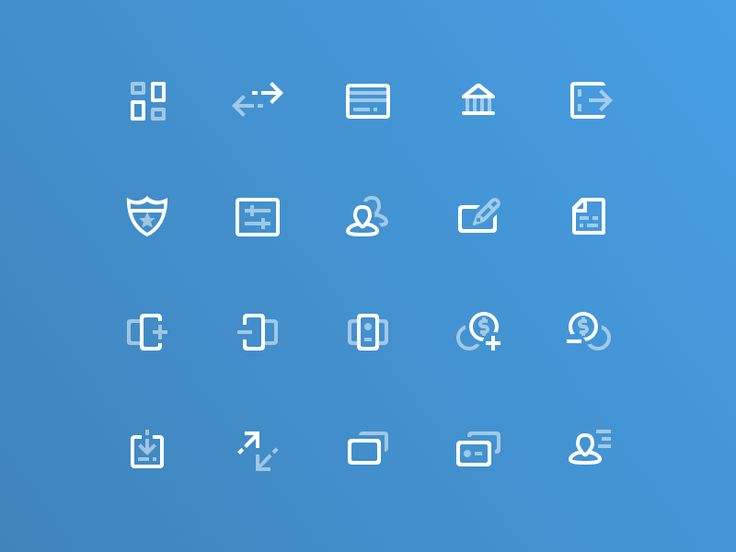 Icons by Mike Busby #Design Popular #Dribbble #shots