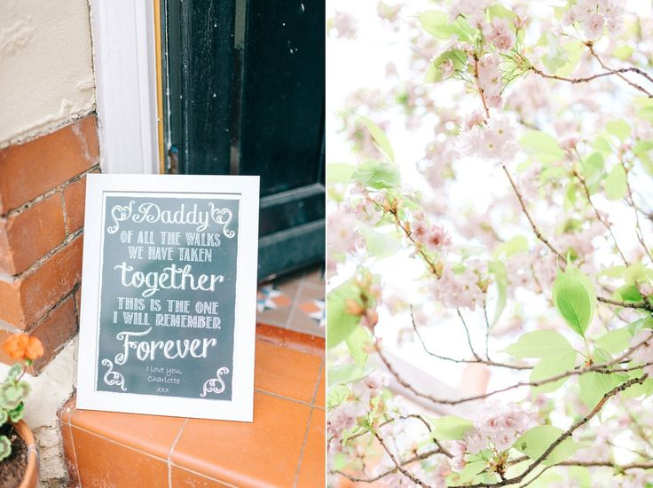 A pretty pastel toned and homemade Spring wedding at Alnwick Treehouse. Photography by Sarah-Jane Ethan.