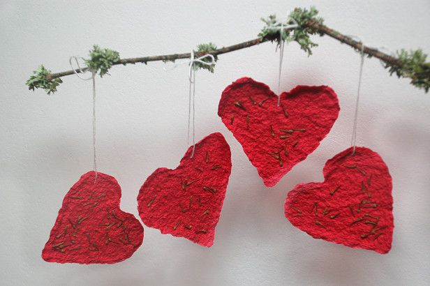 Make Your Own Plantable Valentine's Day Cards --> http://www.hgtvgardens.com/crafts/plantable-valentines-day-cards?soc=pinterest