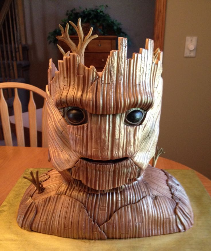 Groot Cake Guardians Of The Galaxy Nikki S Cake