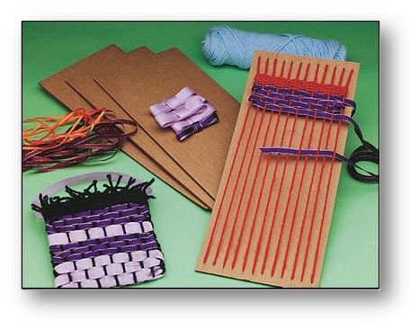 Craft of the month club for kids ages 7 10 ribbon weaving pouch
