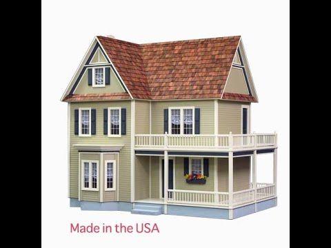 17 Best Ideas About Wooden Dollhouse Kits On Pinterest