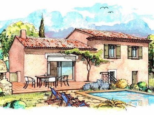 9 best Maisons provençales images on Pinterest Building, Comic and - plan maison demi sous sol