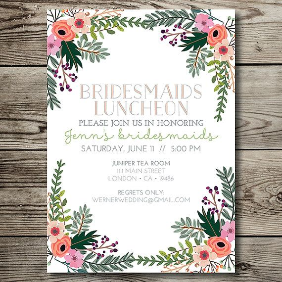 Best 25 Bridal luncheon ideas on Pinterest